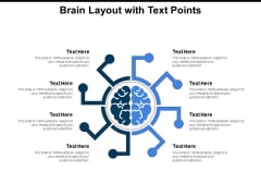 Brain Layout With Text Points Ppt PowerPoint Presentation Topics PDF