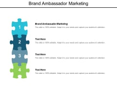 Brand Ambassador Marketing Ppt Powerpoint Presentation Styles Portrait Cpb