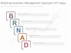 Brand As Business Management Approach Ppt Slides