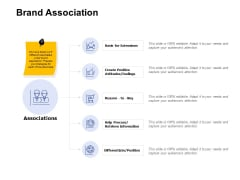 Brand Association Ppt PowerPoint Presentation Show