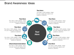 Brand Awareness Ideas Ppt PowerPoint Presentation Microsoft Cpb