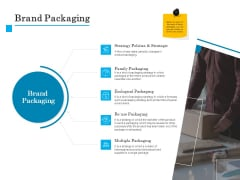 Brand Building Brand Packaging Ppt Infographics Topics PDF