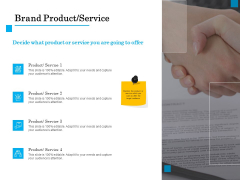 Brand Building Brand Product Service Ppt File Files PDF
