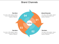 Brand Channels Ppt PowerPoint Presentation Infographic Template Mockup Cpb