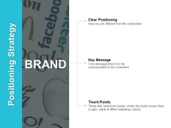 Brand Clear Positioning Ppt PowerPoint Presentation Ideas Guidelines