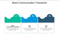 Brand Communication Framework Ppt PowerPoint Presentation Model Templates