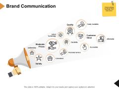 Brand Communication Ppt PowerPoint Presentation Slides Information