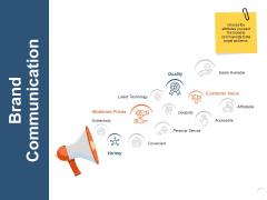 Brand Communication Technology Ppt PowerPoint Presentation Model Gridlines