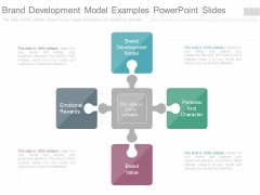 Brand Development Model Examples Powerpoint Slides