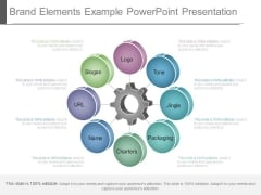 Brand Elements Example Powerpoint Presentation