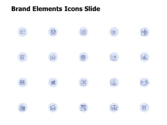Brand Elements Icons Slide Ppt PowerPoint Presentation Professional Brochure