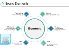 Brand Elements Ppt PowerPoint Presentation Gallery Graphics Example