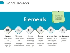 Brand Elements Ppt PowerPoint Presentation Professional Infographic Template