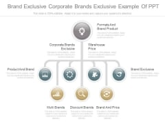 Brand Exclusive Corporate Brands Exclusive Example Of Ppt