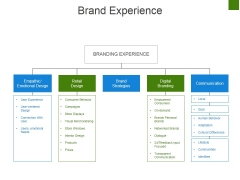 Brand Experience Ppt PowerPoint Presentation Infographic Template Samples