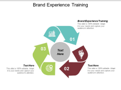 Brand Experience Training Ppt PowerPoint Presentation Portfolio Background Image Cpb