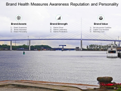 Brand Health Measures Awareness Reputation And Personality Ppt PowerPoint Presentation Layouts Backgrounds