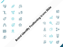 Brand Identify Positioning Icons Slide Winner Ppt PowerPoint Presentation Icon Graphics Example