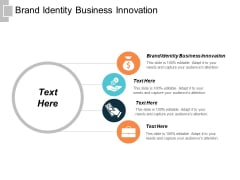 Brand Identity Business Innovation Ppt PowerPoint Presentation Inspiration Background Cpb