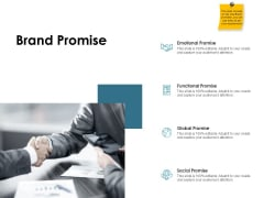 Brand Identity How Build It Brand Promise Ppt Gallery Infographics PDF