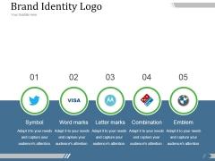 Brand Identity Logo Ppt PowerPoint Presentation Graphics