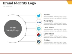 Brand Identity Logo Ppt PowerPoint Presentation Pictures Diagrams