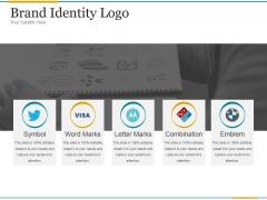 Brand Identity Logo Ppt PowerPoint Presentation Topics