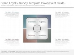 Brand Loyalty Survey Template Powerpoint Guide