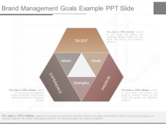 Brand Management Goals Example Ppt Slide