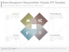 Brand Management Responsibilities Template Ppt Templates