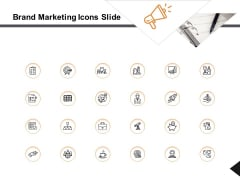 Brand Marketing Icons Slide Social Ppt PowerPoint Presentation Slides Format