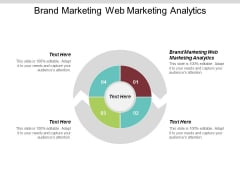 Brand Marketing Web Marketing Analytics Ppt Powerpoint Presentation Summary Outline Cpb
