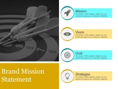Brand Mission Statement Ppt PowerPoint Presentation Backgrounds