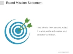 Brand Mission Statement Ppt PowerPoint Presentation Portfolio