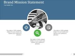 Brand Mission Statement Ppt PowerPoint Presentation Show