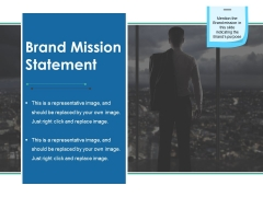 Brand Mission Statement Ppt PowerPoint Presentation Summary Slide