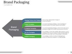 Brand Packaging Ppt PowerPoint Presentation Information