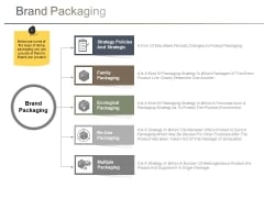 Brand Packaging Ppt PowerPoint Presentation Professional Influencers