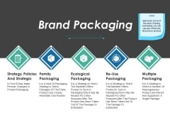 Brand Packaging Ppt PowerPoint Presentation Styles Skills
