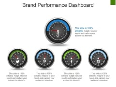 Brand Performance Dashboard Template 1 Ppt PowerPoint Presentation Infographic Template Vector