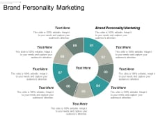 Brand Personality Marketing Ppt PowerPoint Presentation Gallery Demonstration Cpb