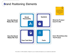 Brand Positioning Elements Ppt PowerPoint Presentation Portfolio Outfit