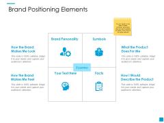 Brand Positioning Elements Ppt PowerPoint Presentation Slide Download