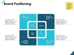 Brand Positioning Personality Ppt PowerPoint Presentation Outline Backgrounds