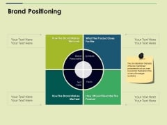 Brand Positioning Ppt PowerPoint Presentation Inspiration Deck