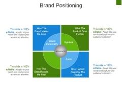 Brand Positioning Ppt PowerPoint Presentation Slides Designs Download