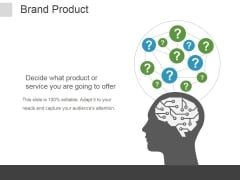 Brand Product Ppt PowerPoint Presentation Clipart