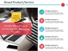 Brand Product Service Ppt PowerPoint Presentation Visual Aids Example 2015