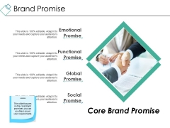 Brand Promise Ppt PowerPoint Presentation Deck