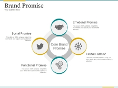 Brand Promise Ppt PowerPoint Presentation Gallery